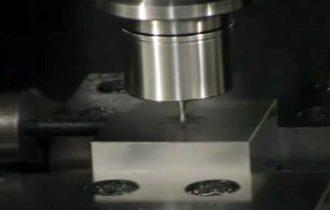 CBN Spiral fulute ball endmil SKD11(HRC60)
